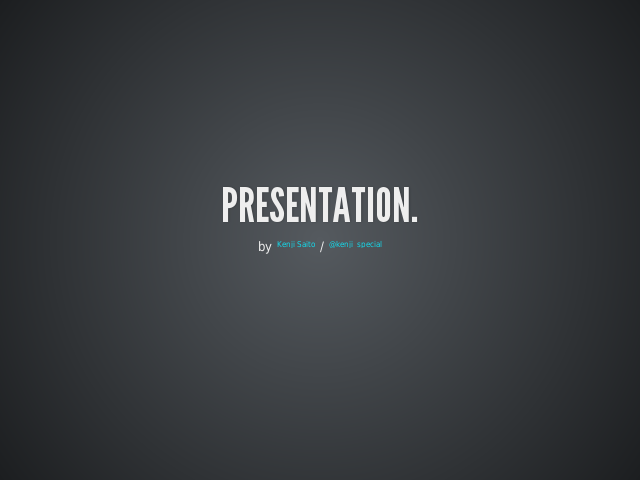 Reveal.js – HTML Presentations Made Easy – Vertical Slides