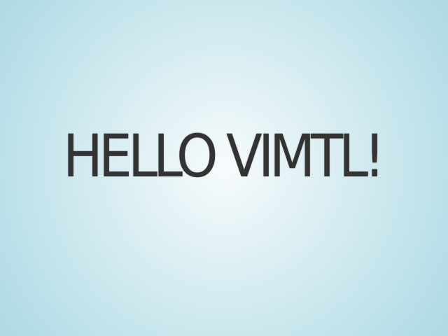 Hello ViMTL! – Introductions – Why should I love my keyboard?