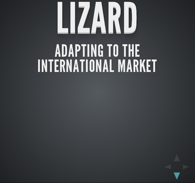 Lizard – Adapting to the international market – GUI fully vietnamese